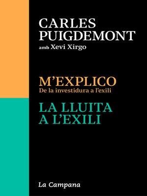 cover image of Edició especial (estoig amb M'explico | La lluita a l'exili)