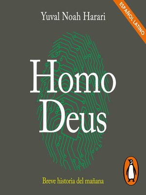 cover image of Homo Deus