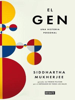 cover image of El gen