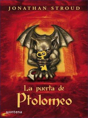 cover image of La puerta de Ptolomeo (Bartimeo 3)