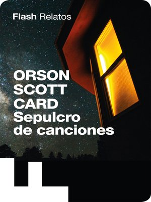 cover image of Sepulcro de canciones (Flash Relatos)