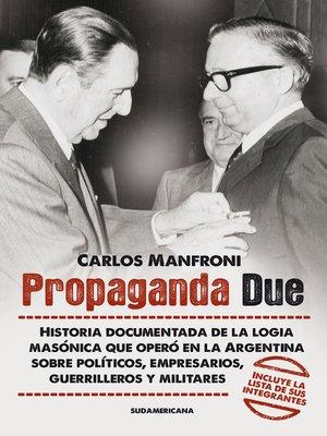 cover image of Propaganda Due