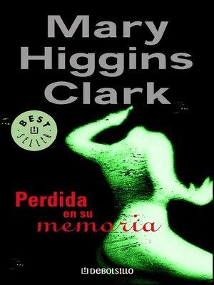 cover image of Perdida en su memoria