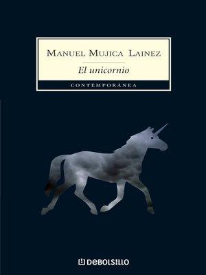 cover image of El unicornio