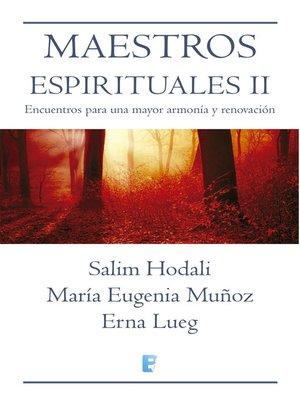 cover image of Maestros Espirituales Ii