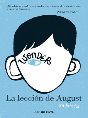 cover image of Wonder. La lección de August