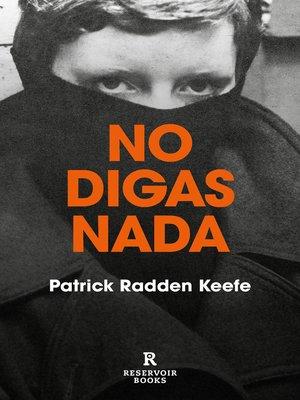 cover image of No digas nada