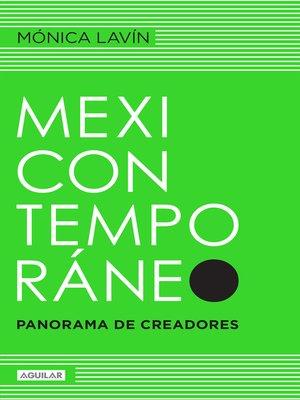 cover image of Mexicontemporáneo