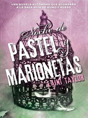 cover image of Noche de pastel y marionetas