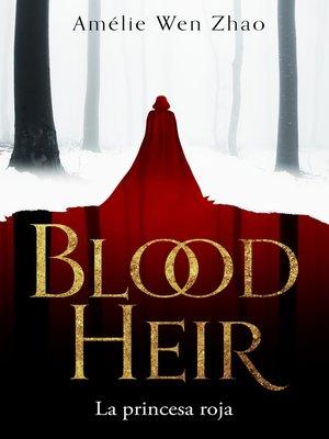 cover image of La princesa roja