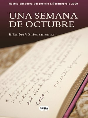 cover image of Una semana de octubre