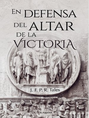 cover image of En defensa del altar de la Victoria