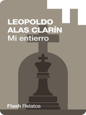 cover image of Mi entierro