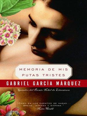 cover image of Memoria de mis putas tristes