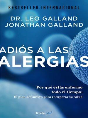 cover image of Adiós a las alergias