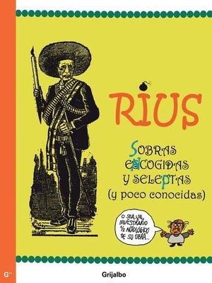 cover image of Sobras encogidas y seleptas (Colección Rius)