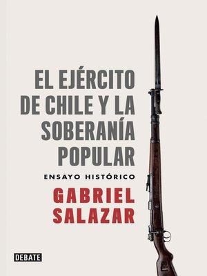 cover image of El ejército de Chile y la soberanía popular