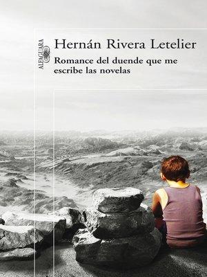cover image of Romance del duende que escribe las novelas