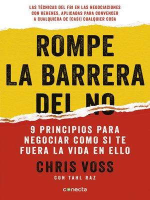 cover image of Rompe la barrera del no
