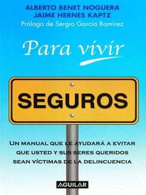 cover image of Para vivir seguros