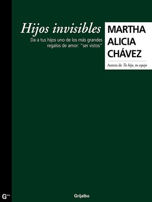 cover image of Hijos invisibles