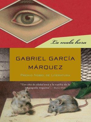 cover image of La mala hora
