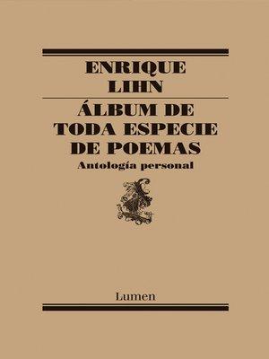 cover image of Álbum de toda especie de poemas