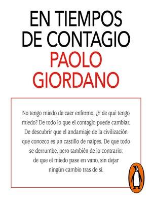 cover image of En tiempos de contagio