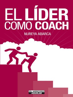 cover image of El líder como coach