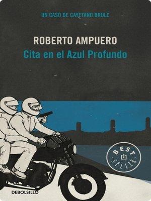 cover image of Cita en el azul profundo