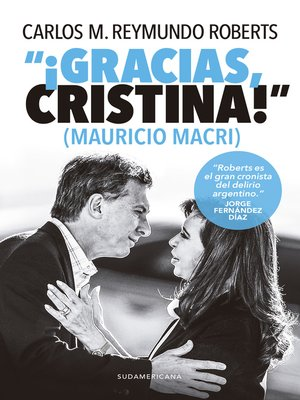 "cover image of ""¡Gracias, Cristina!"" (Mauricio Macri)"