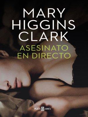 cover image of Asesinato en directo (Bajo sospecha 1)