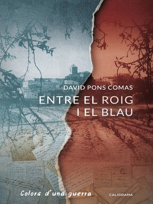 cover image of Entre el roig  i el blau