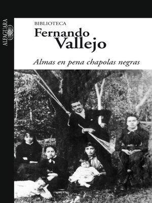 cover image of Almas en pena chapolas negras