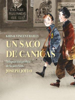 cover image of Un saco de canicas (novela gráfica)