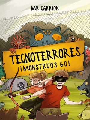 cover image of ¡Monstruos GO!