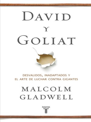 cover image of David y Goliat