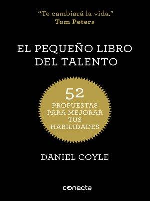 cover image of El pequeño libro del talento