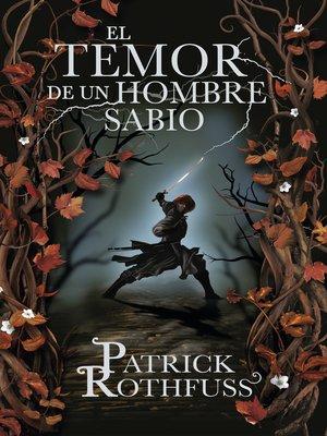 cover image of El temor de un hombre sabio