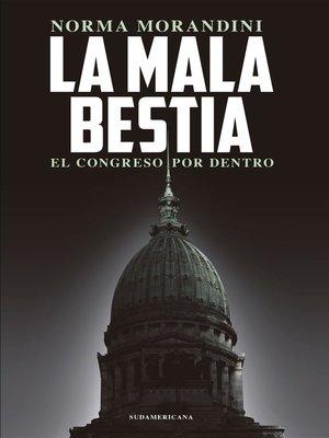 cover image of La mala bestia