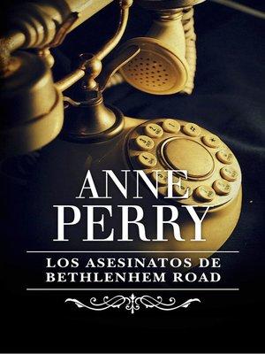 cover image of Los asesinatos de Bethlehem Road