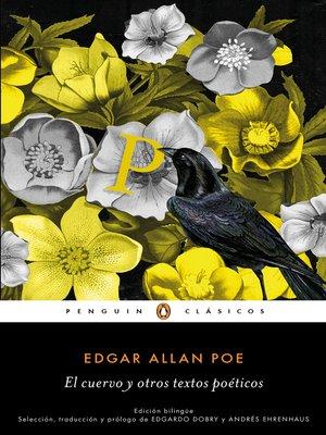 cover image of El cuervo y otros textos poéticos