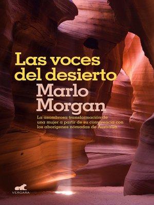 cover image of Las voces del desierto