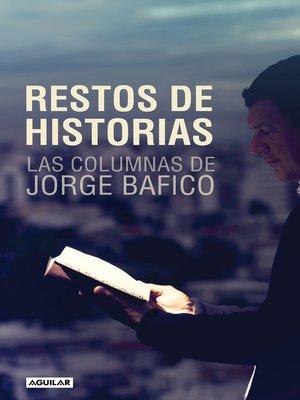 cover image of Restos de historias