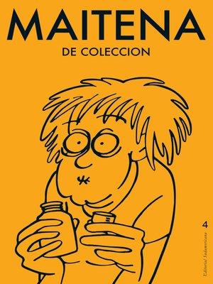cover image of MAITENA DE COLECCION 4