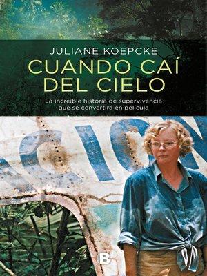 cover image of Cuando caí del cielo