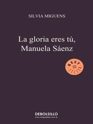 cover image of La gloria eres tú