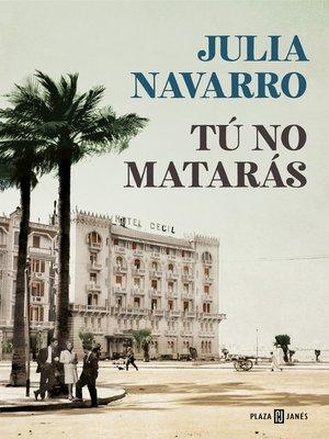 cover image of Tú no matarás