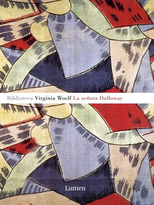 cover image of La señora Dalloway