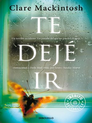 cover image of Te dejé ir